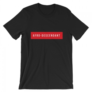 T-shirt Afro-Descendant