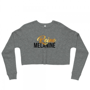 Reine Mélaniné Crop-top sweatshirt